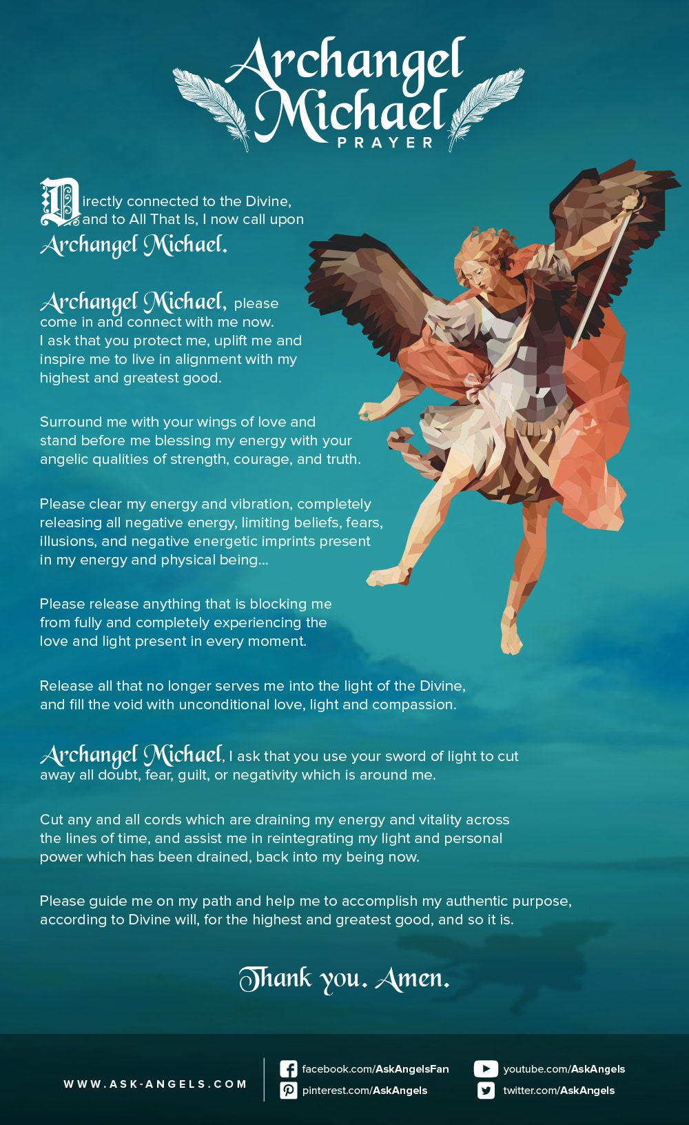 Archangel michael prayer biocorpaavc Images