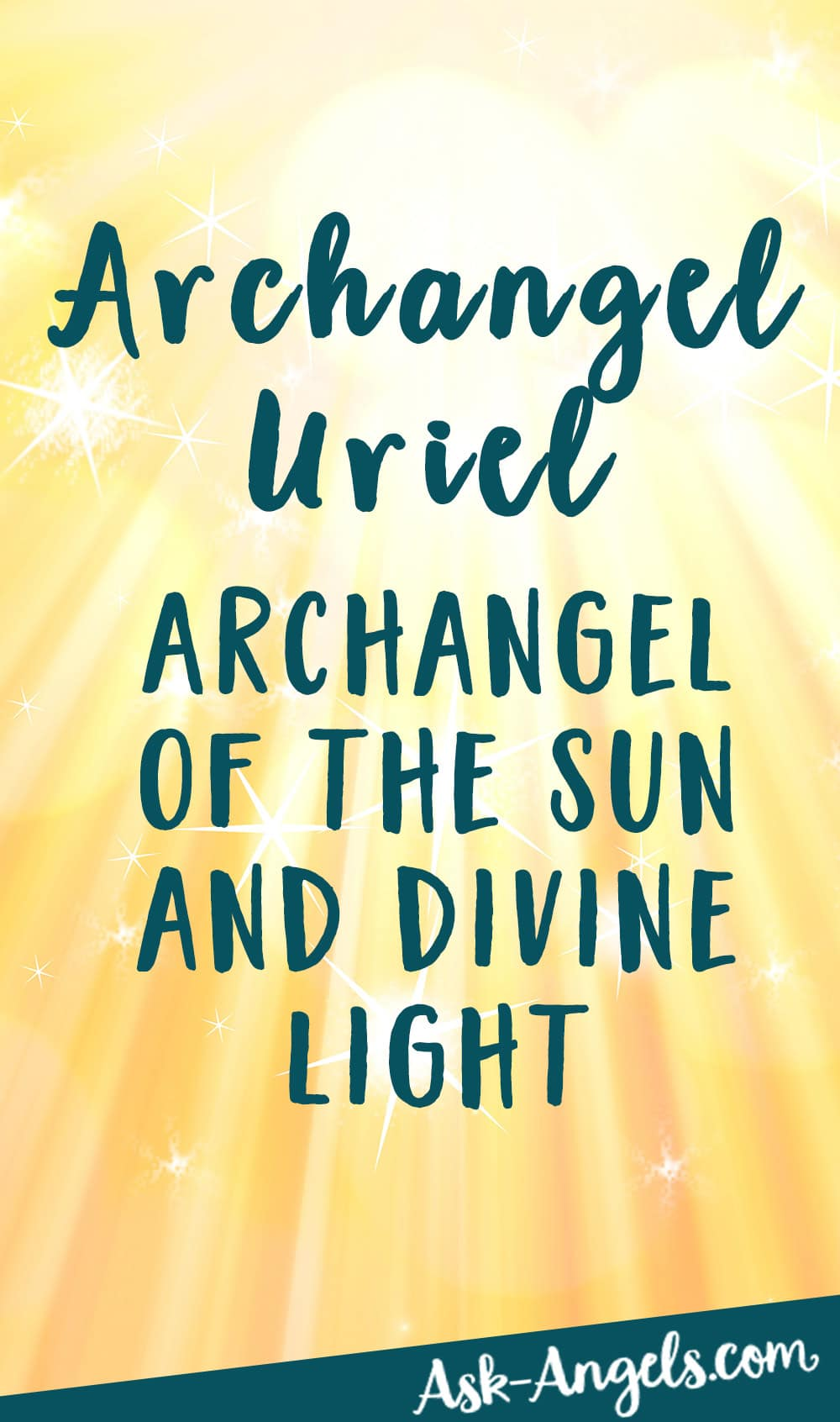 Archangel Uriel - Invoke the Angel of Wisdom, Illumination