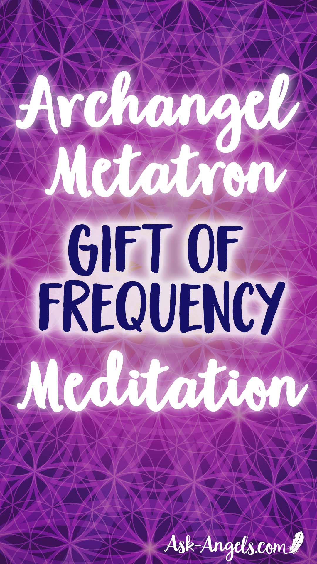 "Get a Free ""Gift of Frequency"" Angel Meditation with Archangel Metatron here! Clear limiting beliefs and raise your vibration to deeply attune to love now."