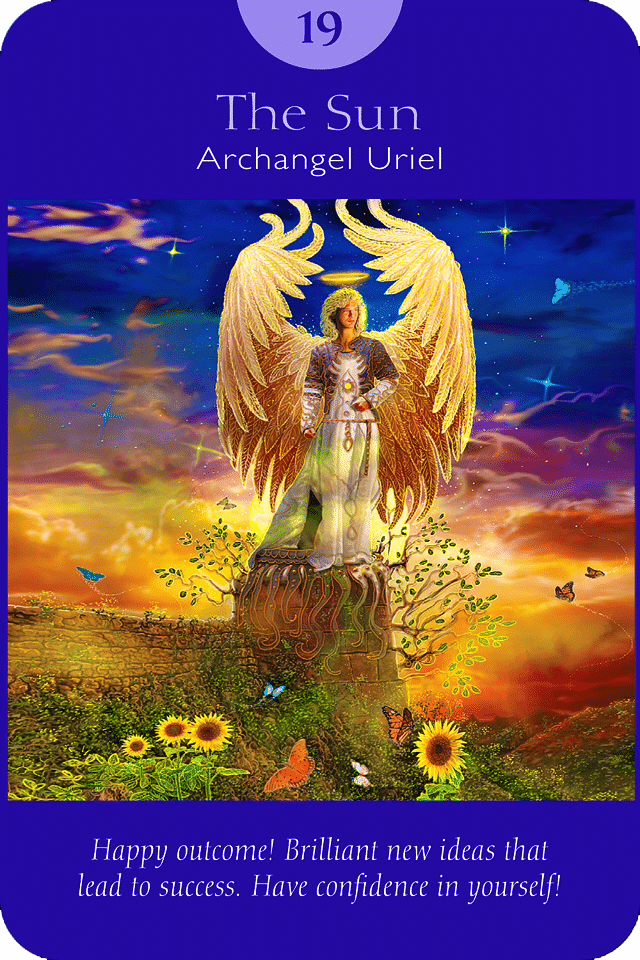 The Sun - Angel Tarot