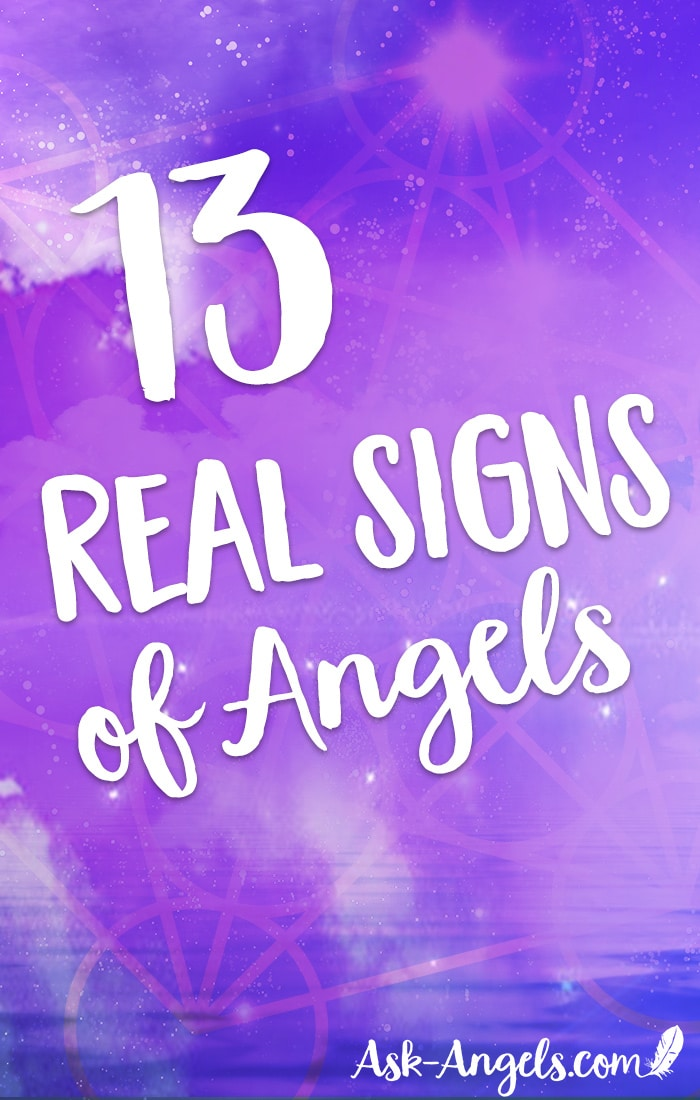 Angel signs are the signals, clues and omens that signify the presence of angels in your life. Pay attention because angel signs take many forms! In this post you will learn 13 real spiritual signs of angels.