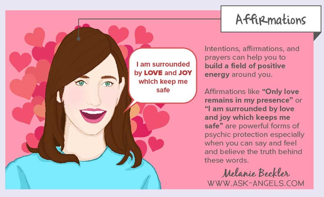 Affirmations for Psychic Protection