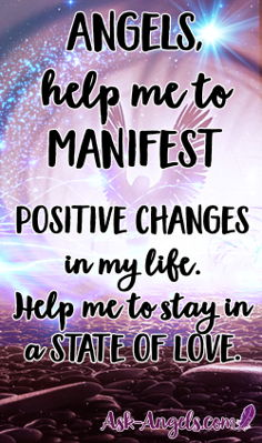 Love is your path to infinite possibility. Learn how to work with the angels to manifest positive changes in your life through staying in a positive state of love in this free angel message with Archangel Haniel. #angelmessage