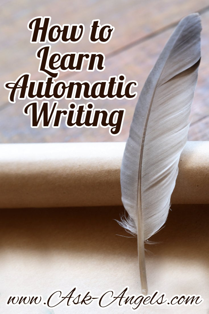 automatic writing spirit