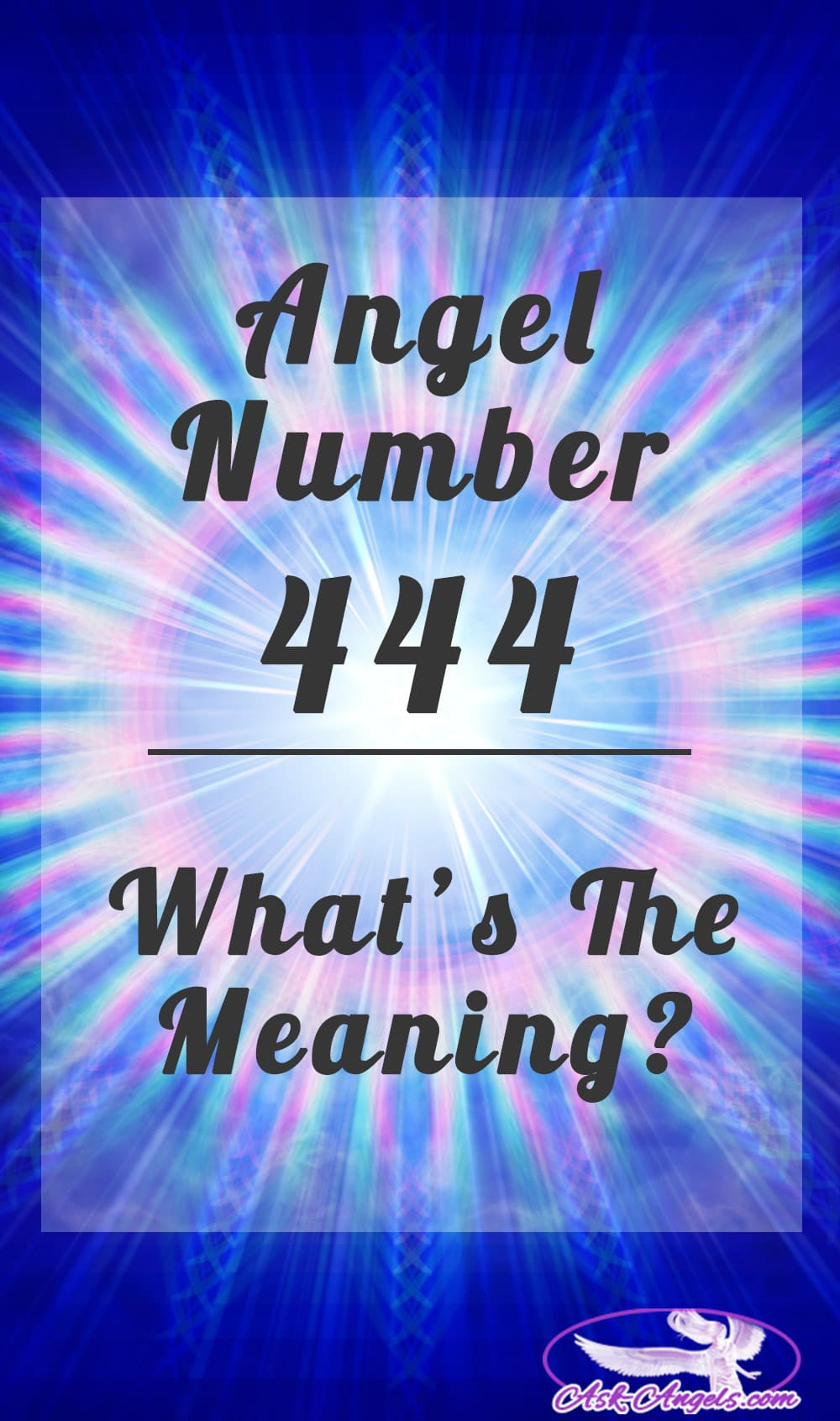 Angel Number 444- What's The Meaning?