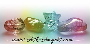 angels and crystals