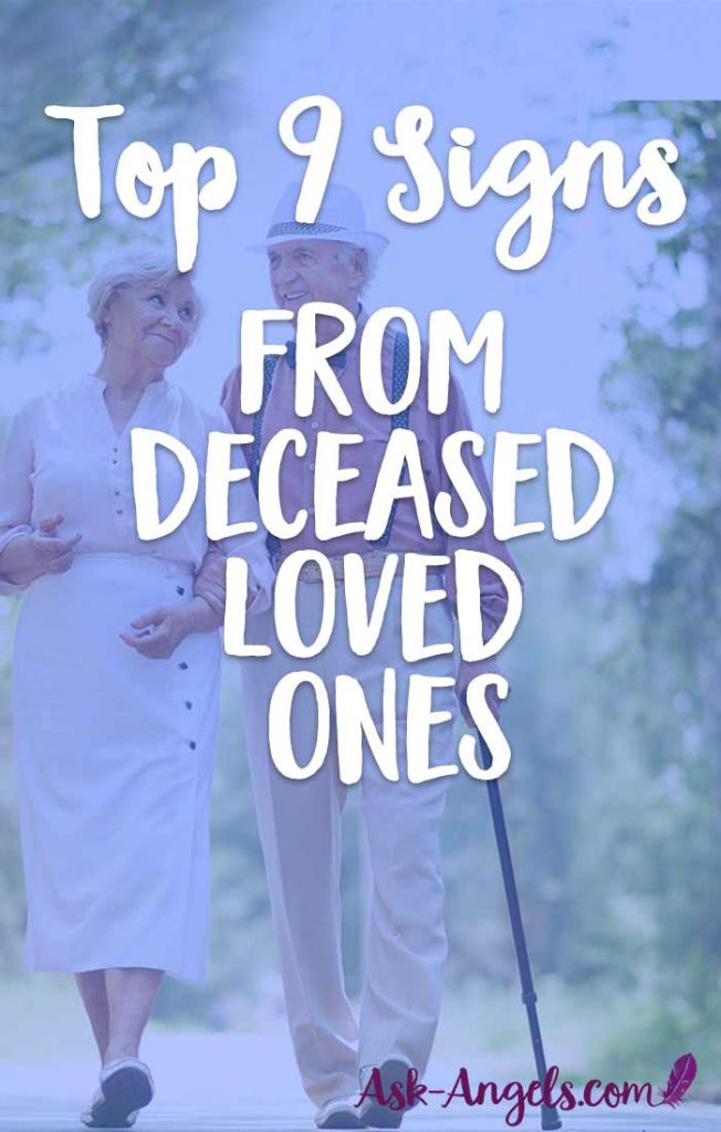 Signs from Heaven… Top 9 Signs from Deceased Loved Ones
