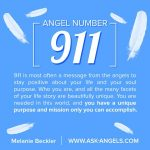 Angel Number 911