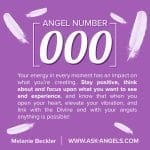 Angel Number 000 … What Does It Mean?