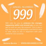 Angel Number 999. What Does 999 Mean?