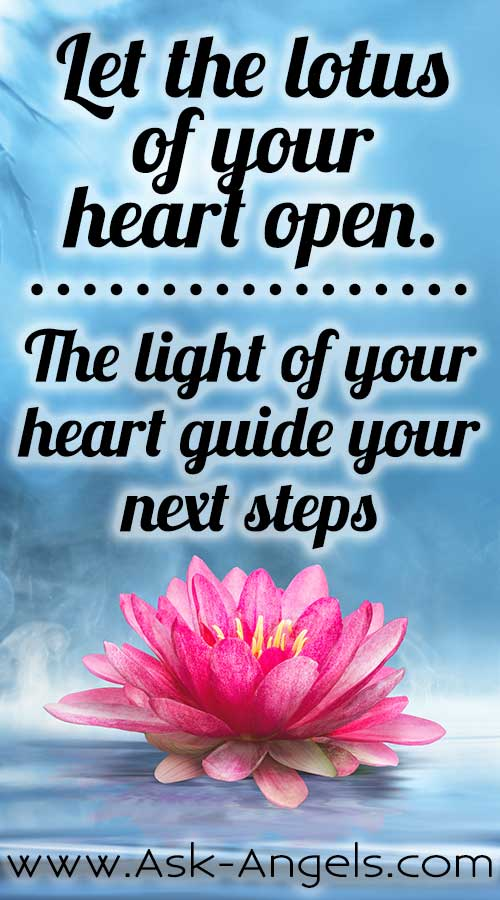Let the Lotus of Your Heart Open