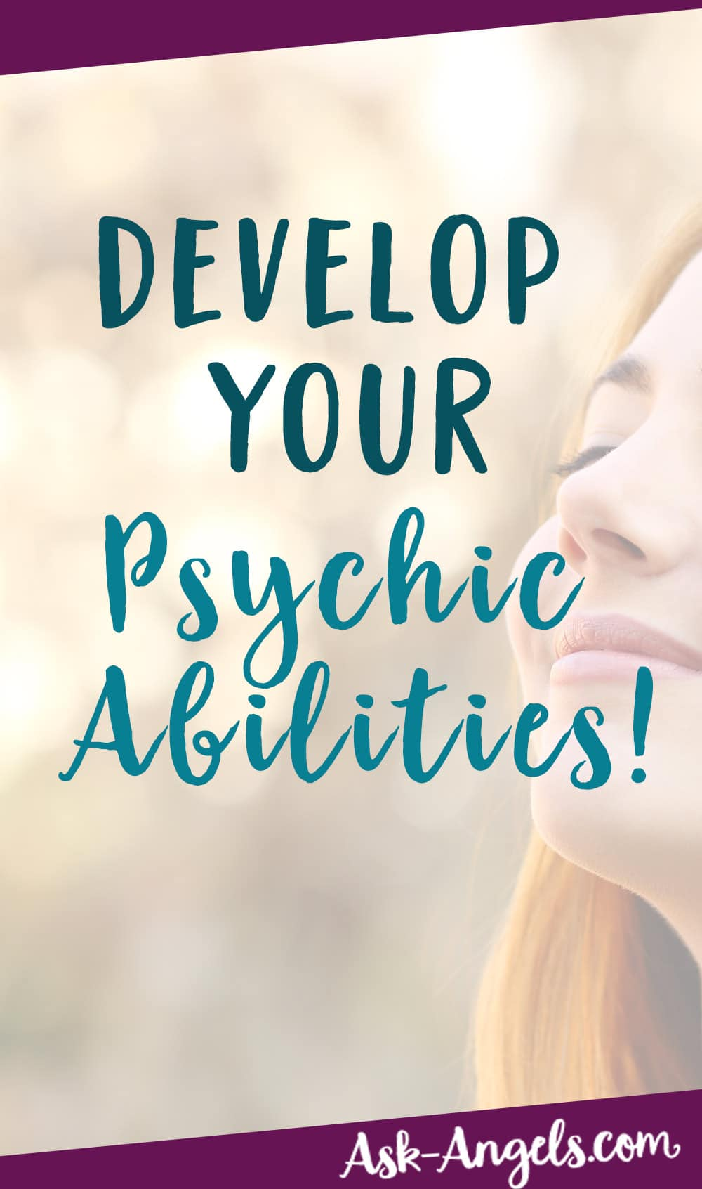 DEVELOP PSYCHIC ABILITIES PDF