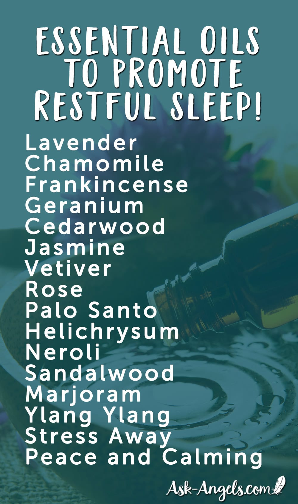 Essential Oils to Promote Restful Sleep