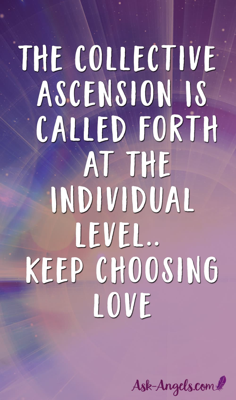 Collective Ascension of Humanity