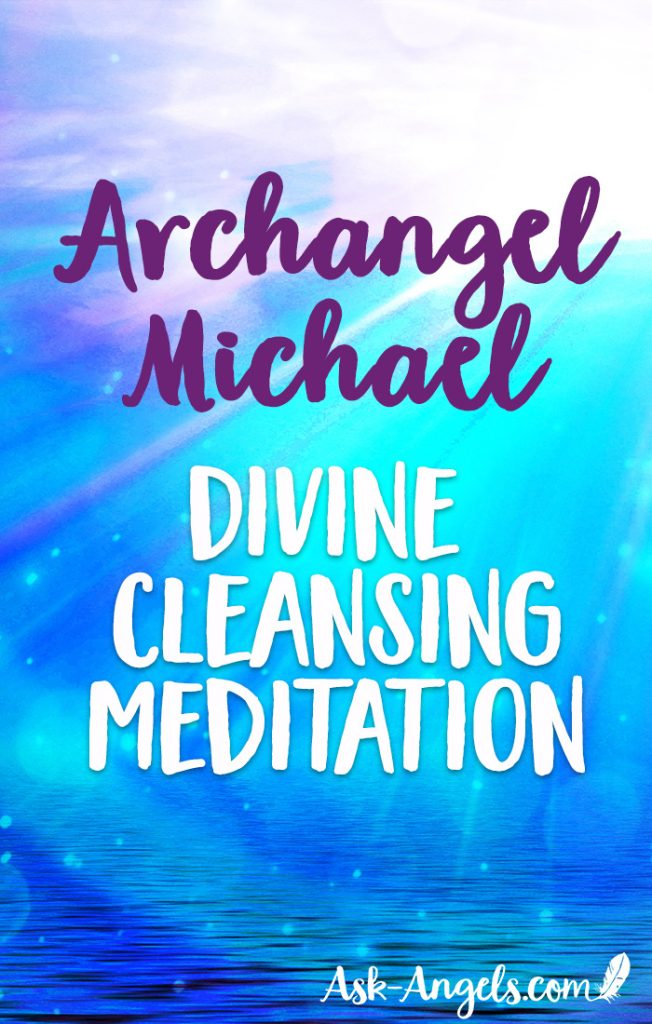 Experience the power of energy clearing with this beautiful guided meditation with Archangel Michael. Relax and listen as the Divine Rays and angelic energy cleanses you entire being. #channeling