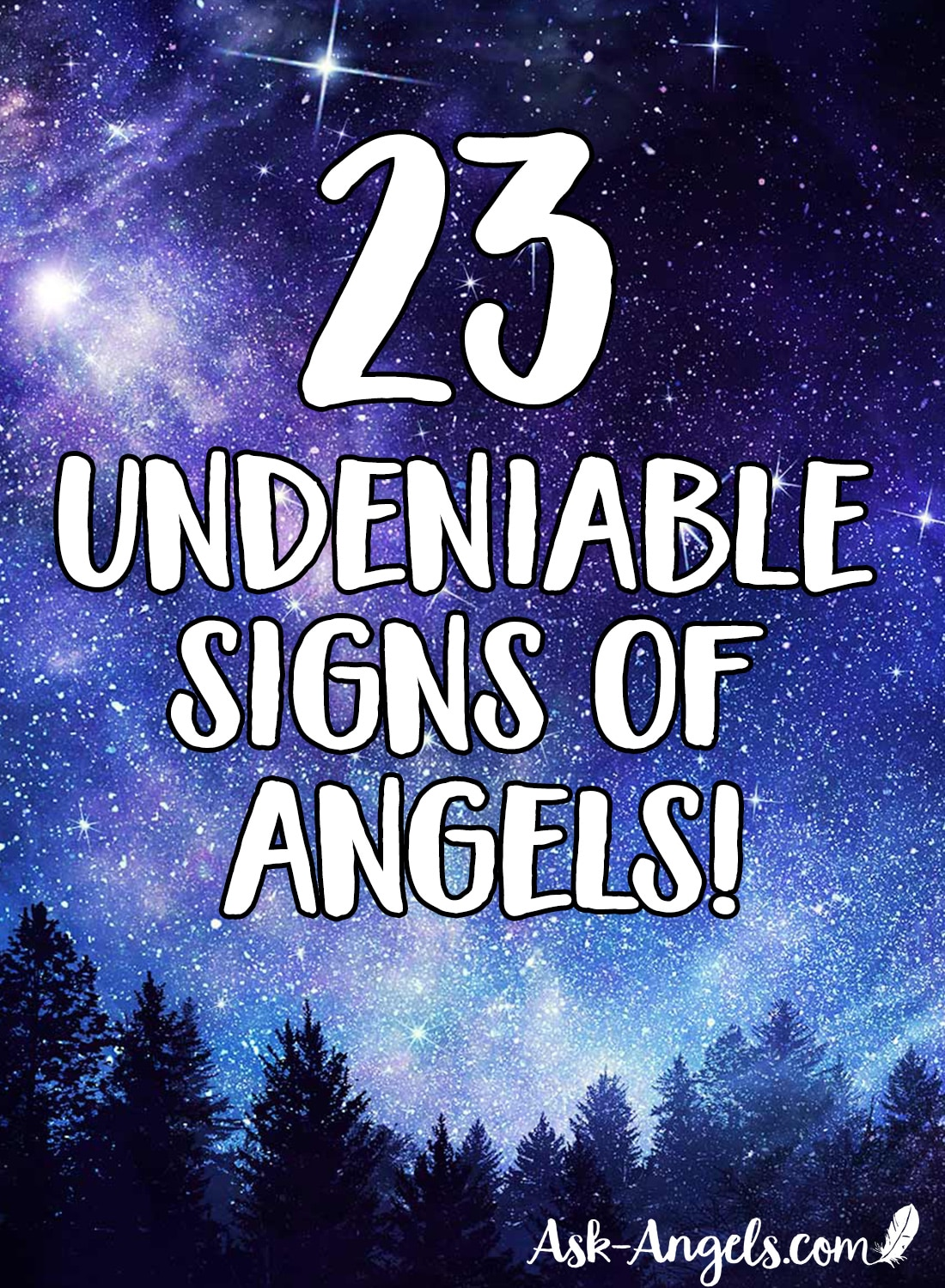 23 Signs of Angels