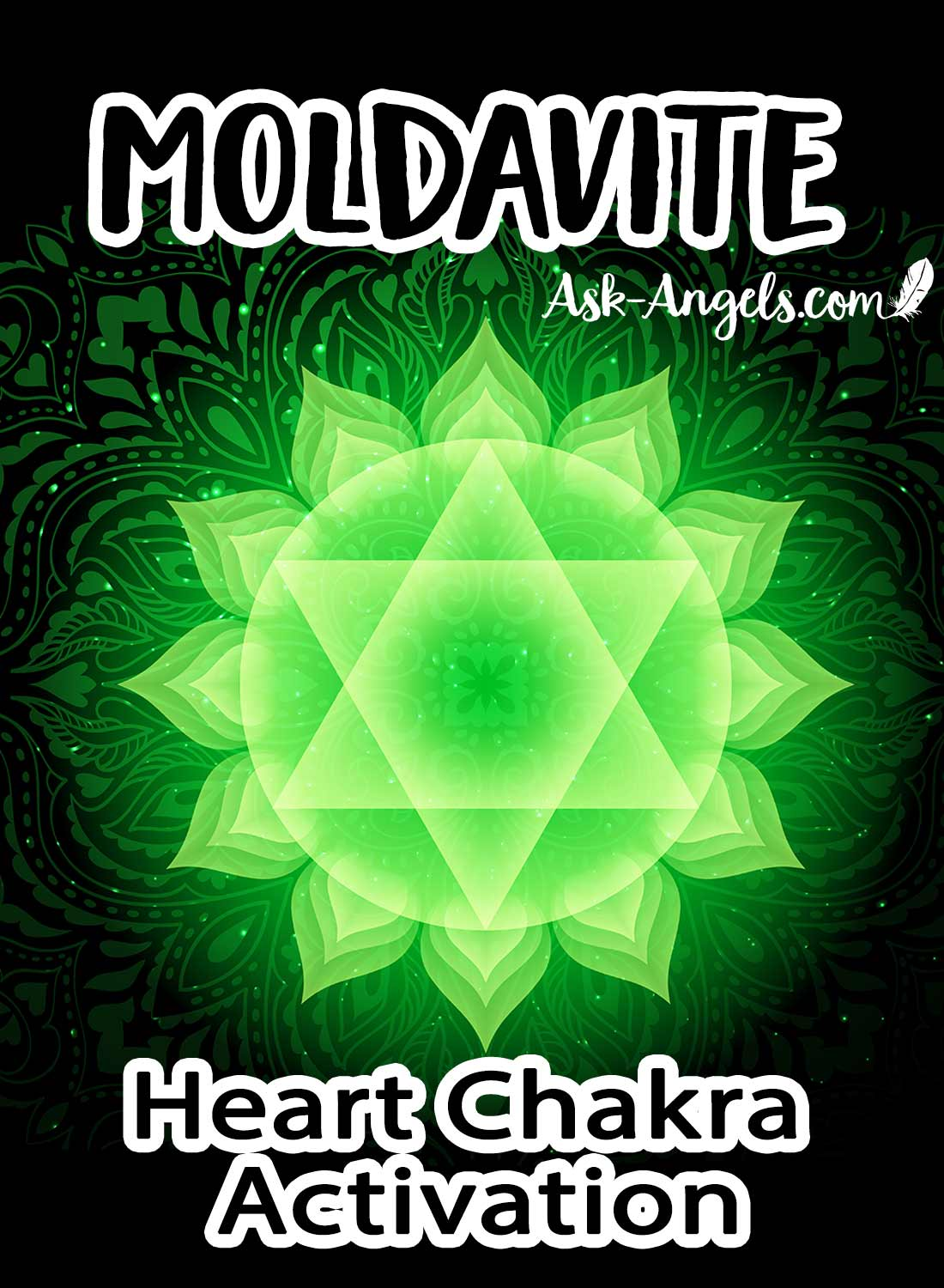 Heart Chakra Activation with Moldavite