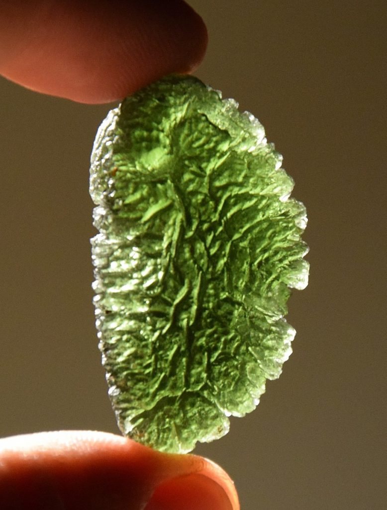 Moldavite photo by Onohej zlatove