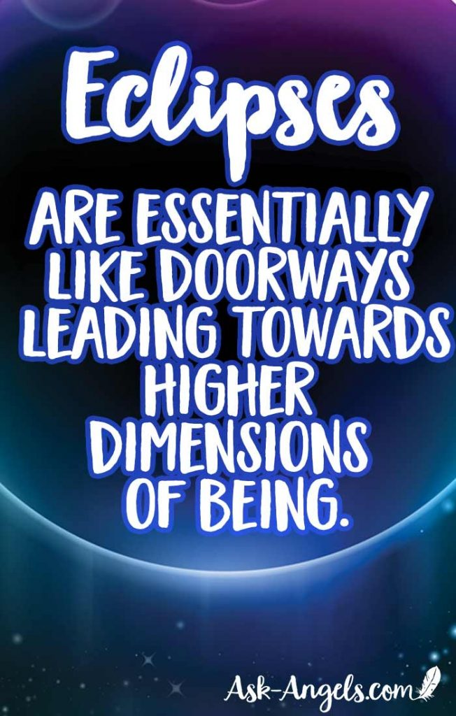 Eclipses are essentially like doorways leading towards higher dimensions of being. Learn more about the spiritual meaning and significance of Eclipses now.