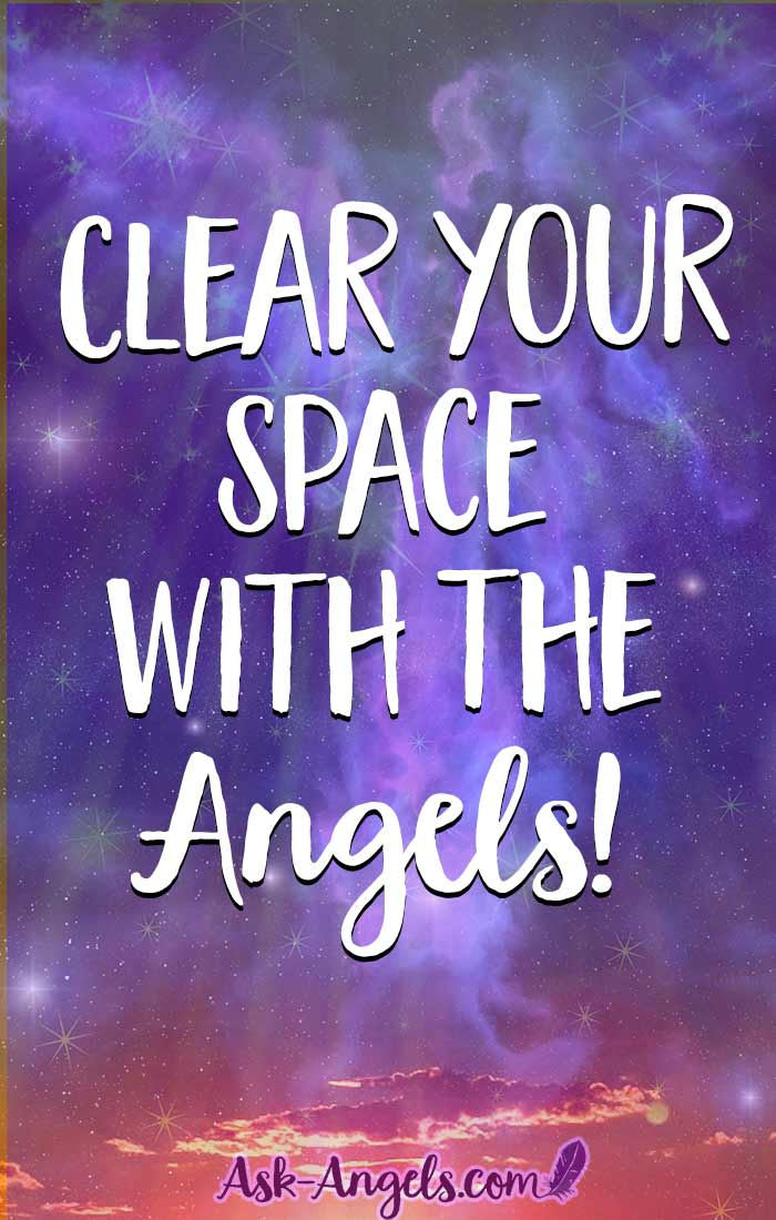 Clear your space and uplift your energy with this powerful and yet simple angel invocation.