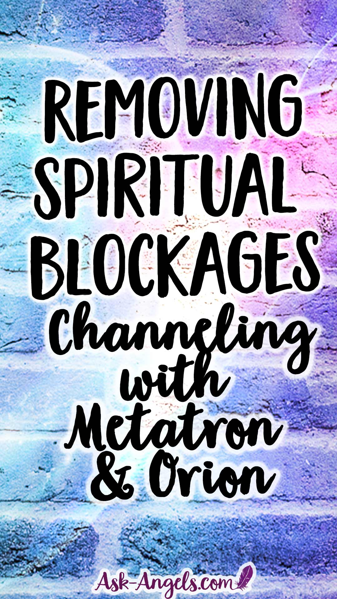 Removing Spiritual Blockages