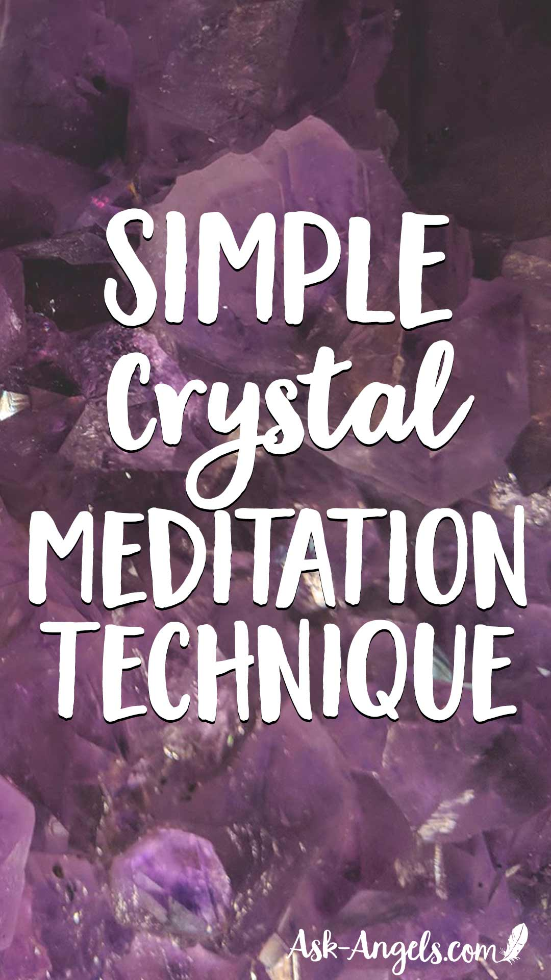 Learn a simple crystal meditation technique for tuning into crystalline energy and elevating your meditation experience now!