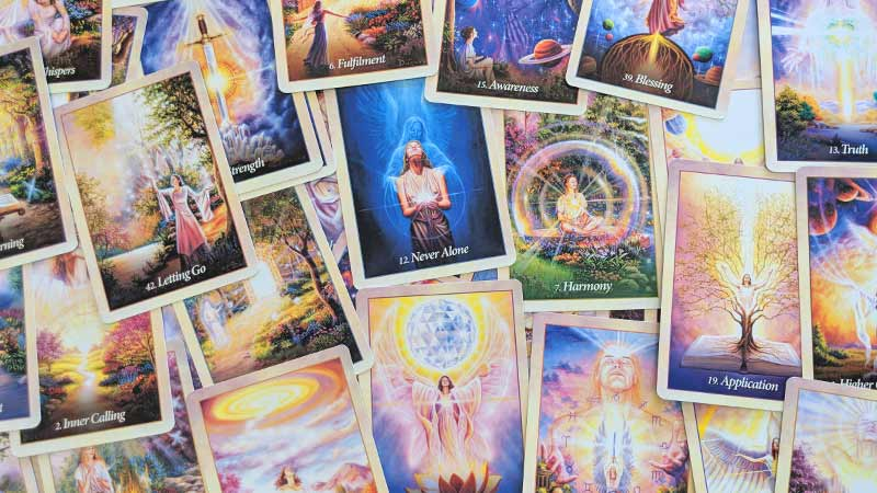 Oracle of the Angels - Oracle Card Images