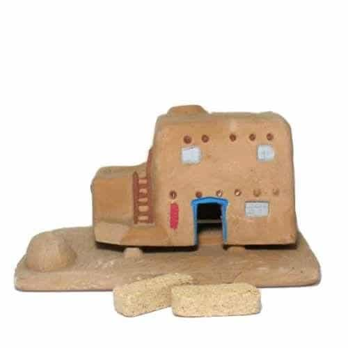 Casa (Adobe House) Burner With Pinon Natural Wood Incense