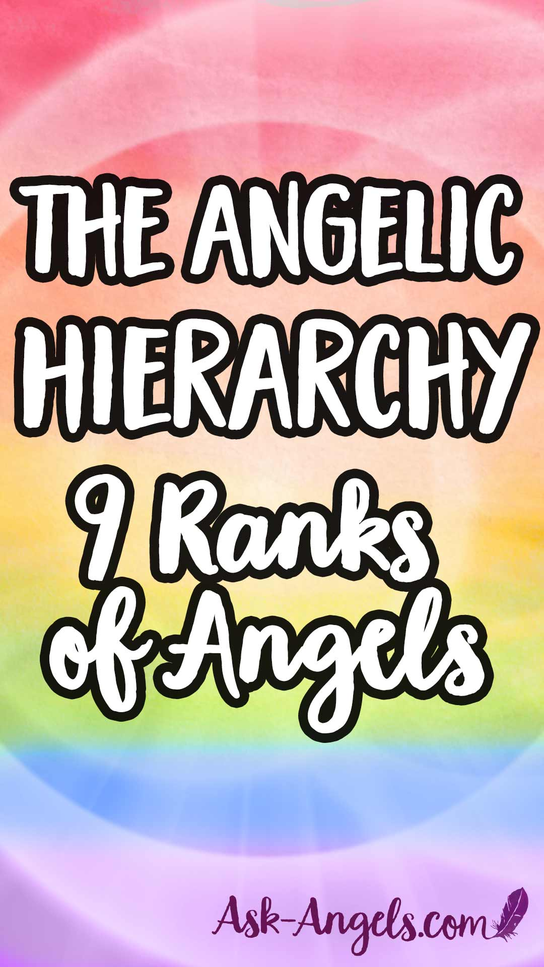 The Angelic Hierarchy... 9 Angel Ranks