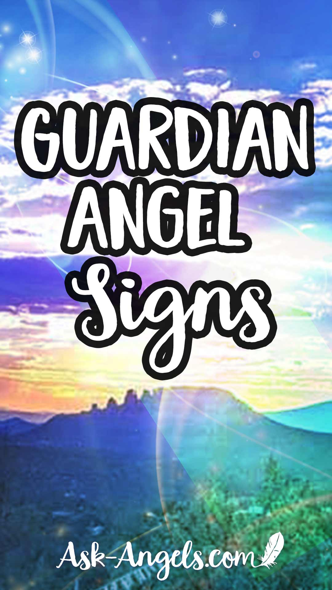 Learn the top guardian angel signs!