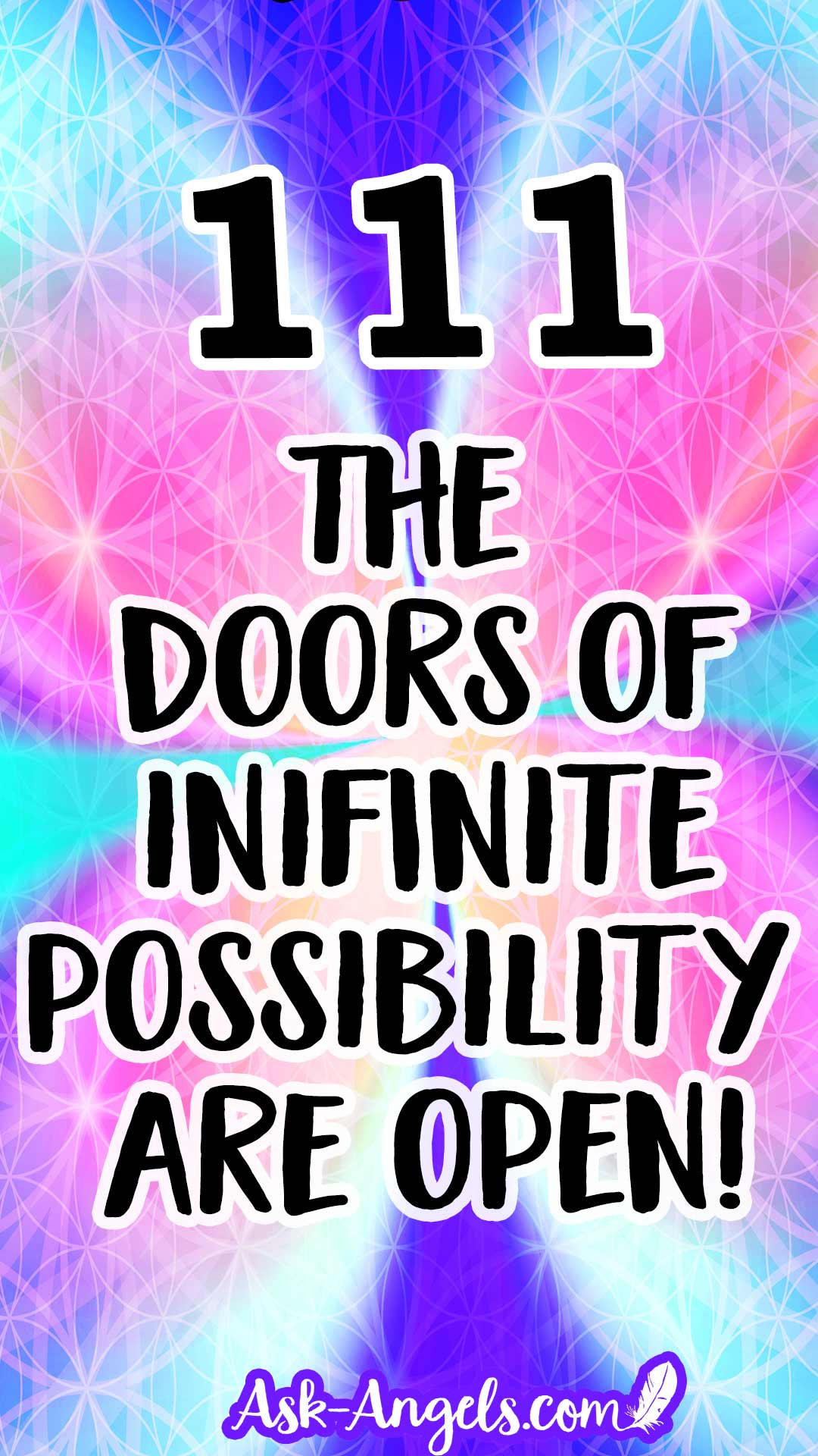 111 - The doors of infinite possibility are open