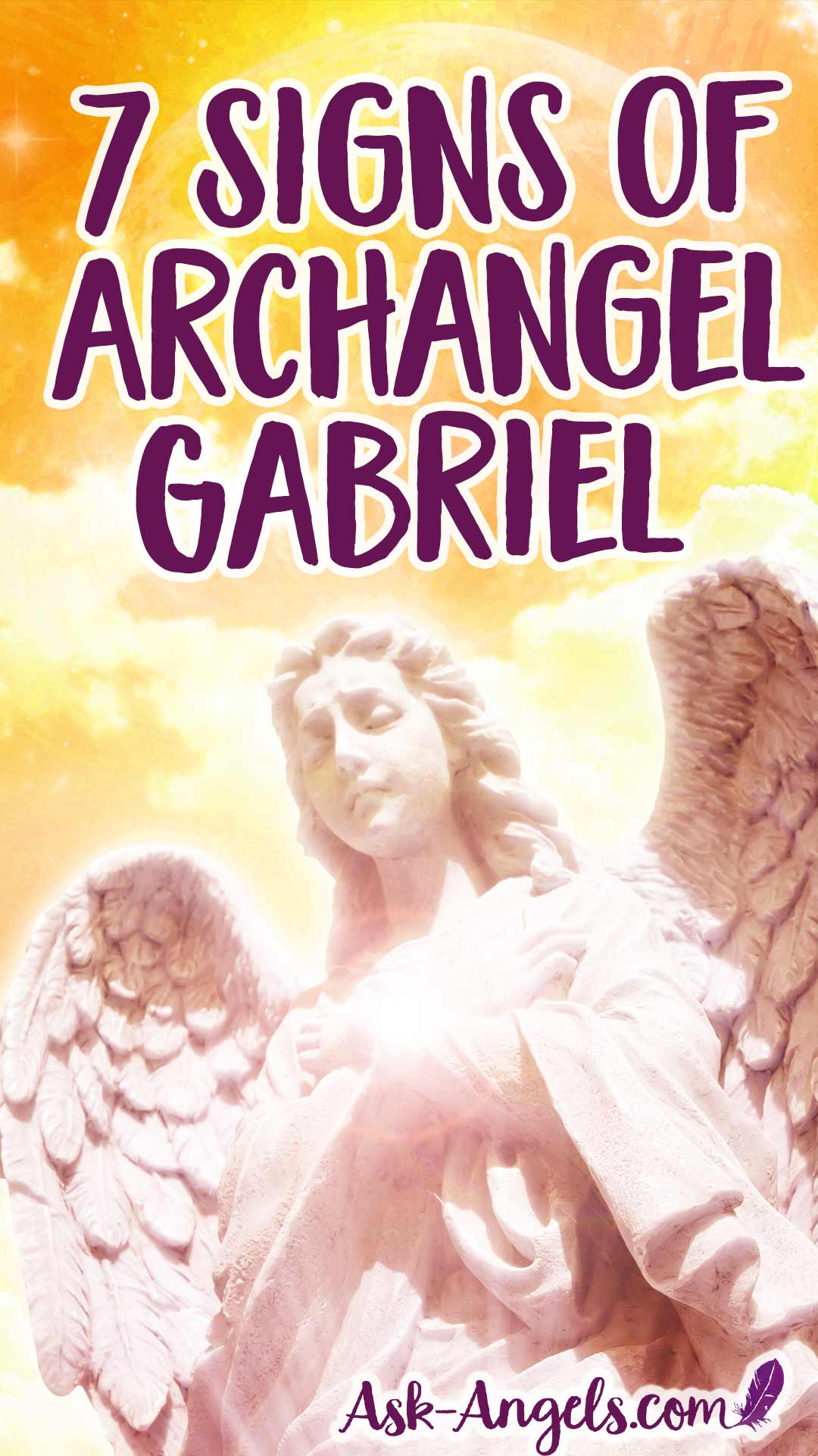 Top 7 Signs of Archangel Gabriel