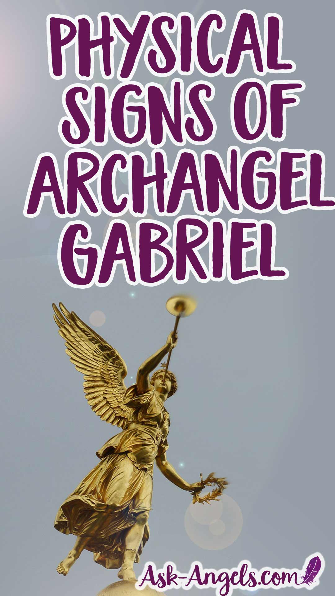 Physical Signs of Archangel Gabriel
