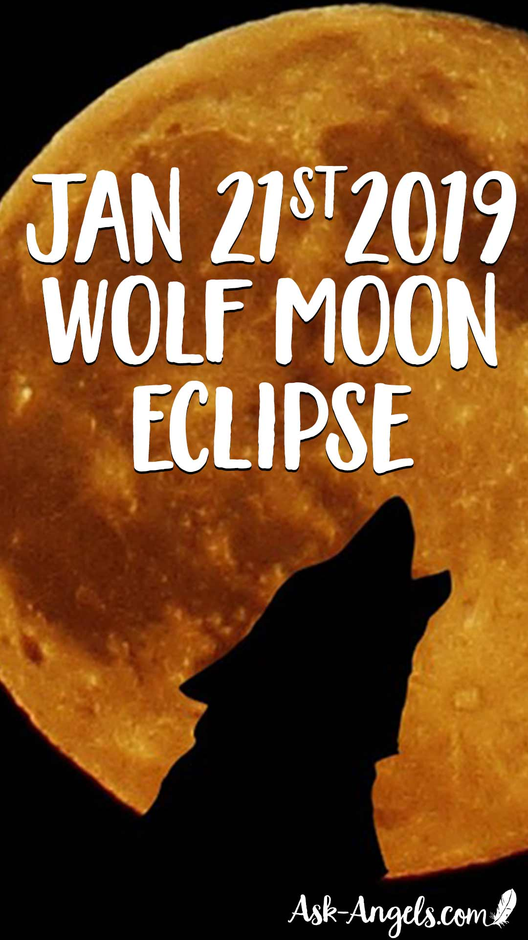 Jan 21 2019 Full Wolf Moon Eclipse