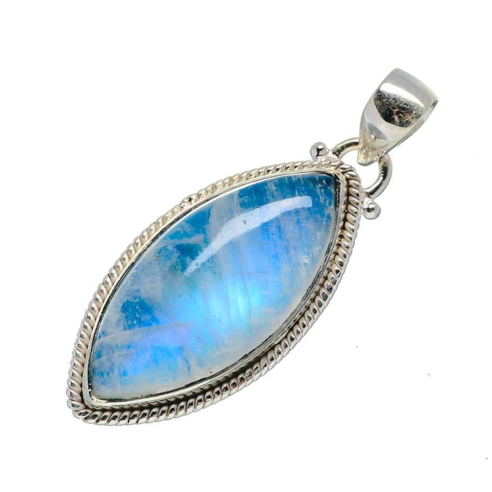 Moonstone Pendant - Crystals for Travel