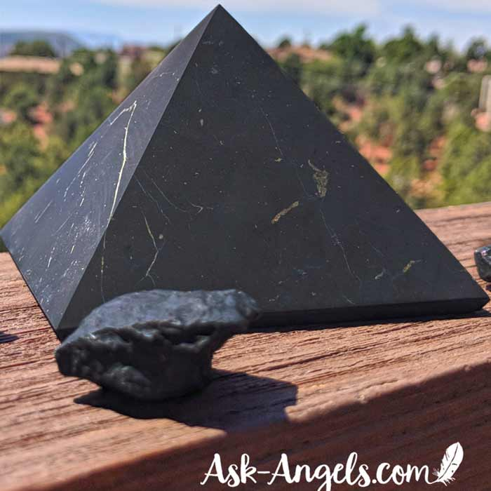 Shungite - Top Crystals for Travel