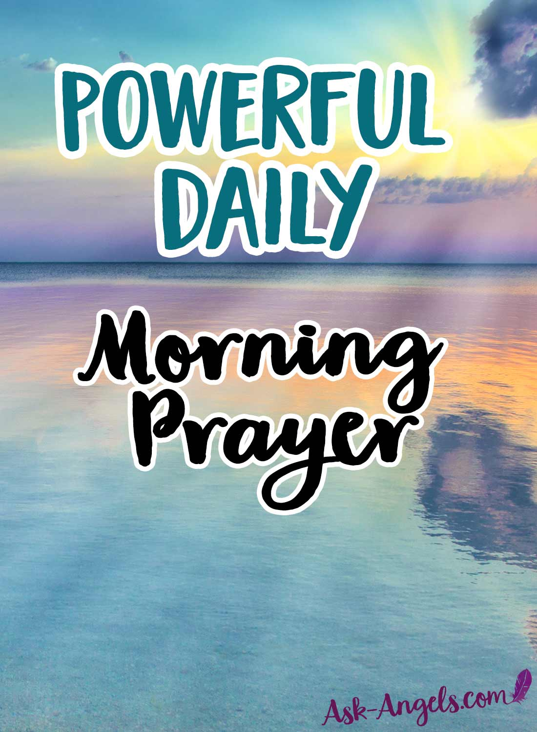 Powerful Daily Morning Prayer