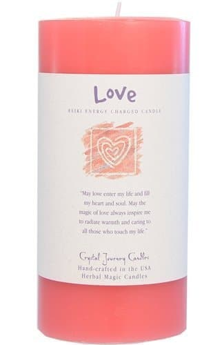 Reiki Charged Love Candle