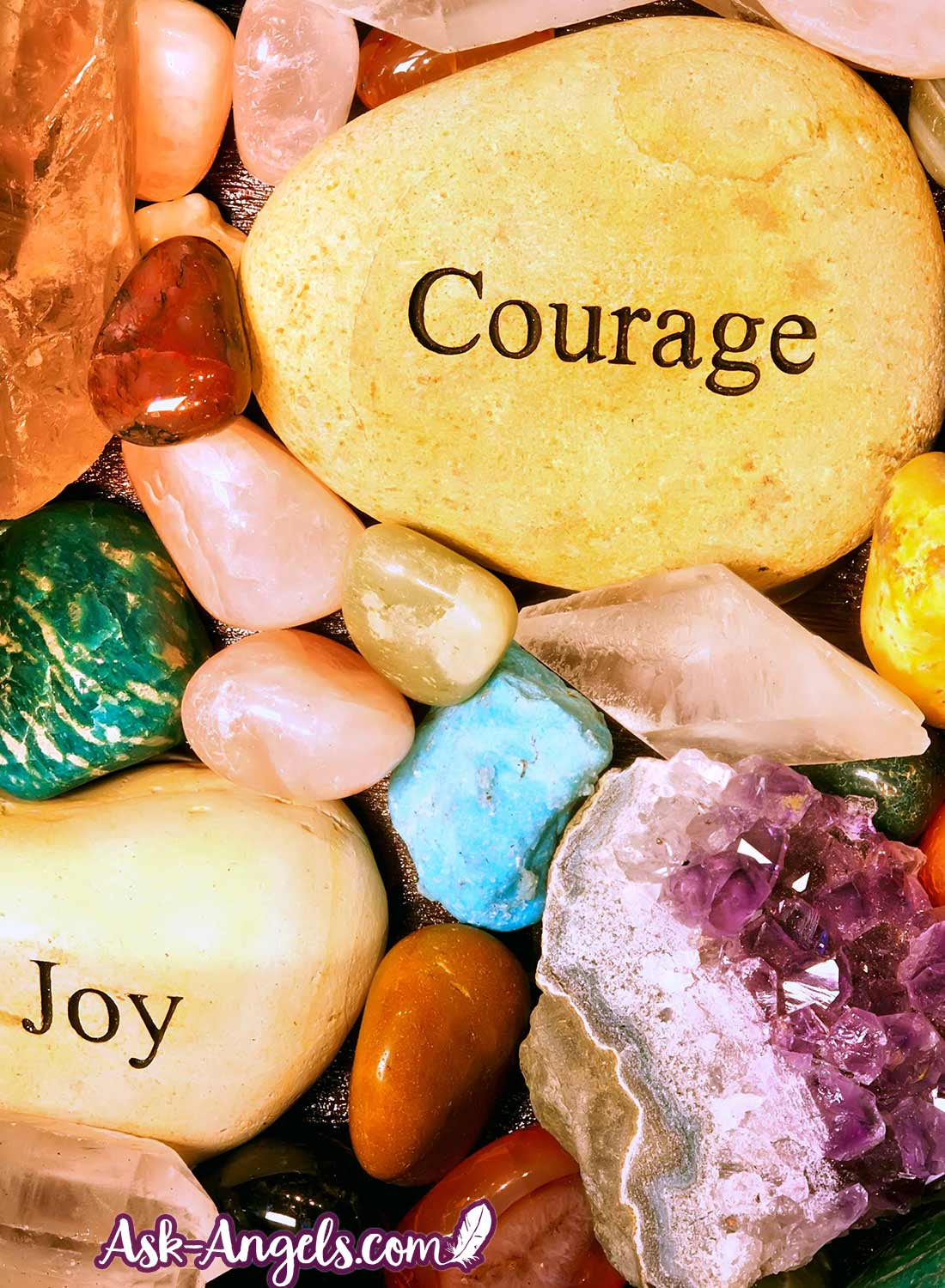 Using stones for chakra healing